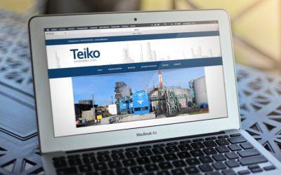 Sitio Web Teiko Ingeniería Ltda.